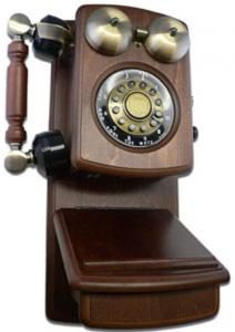 Reproduction Wood Wall Phones