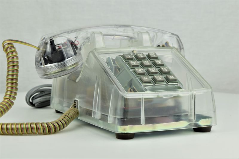 candlestick telephones  chrome phones  chrome phones  clear phones