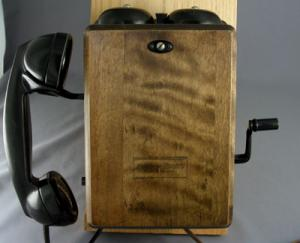 Wood Wall Phones