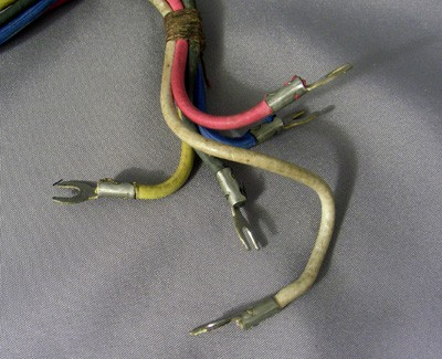 Original Western Electric 5 conductor dial harness Front View