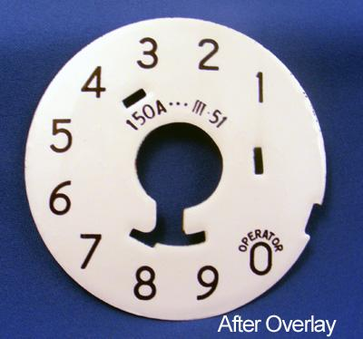 Numeric Dial Plate overlay After View