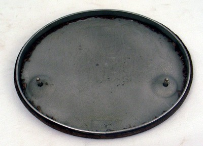 Base Plate for model 202 Front View