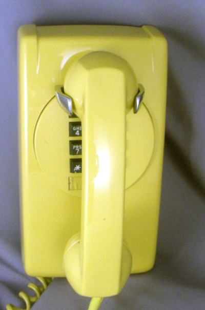 Northern Electric 2554- Yellow Front View
