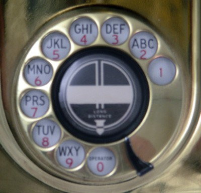 Automatic Electric Type 21 Wall Phone Front View