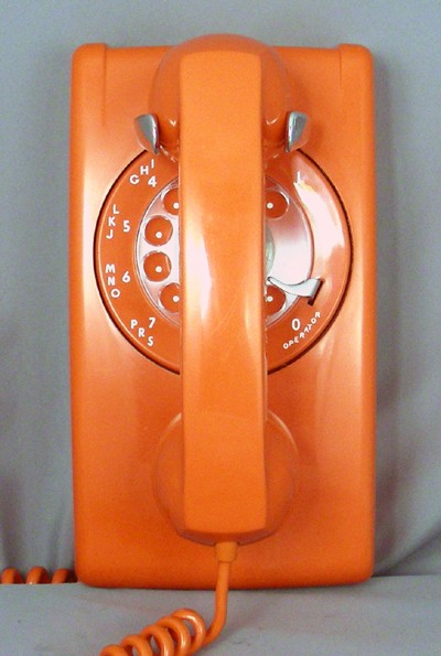 ITT 554 -Orange Front View
