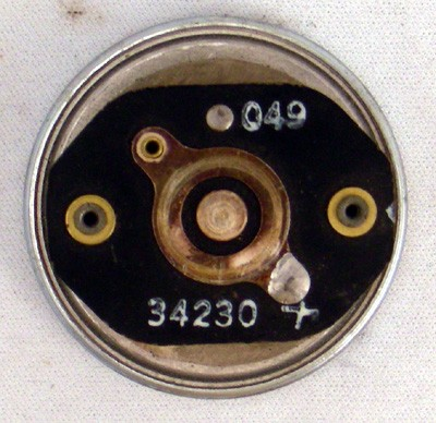 Receiver Element for Connecticut Handset Front View