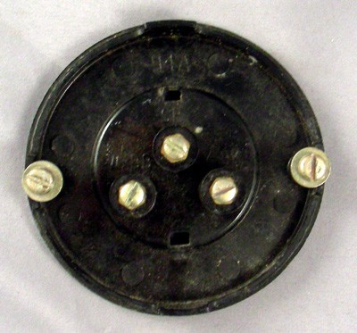 Western Electric Thermoplatsic Dial Blank Front View