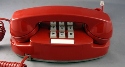 Western Electric 2702- Red Front View
