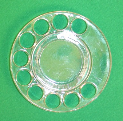 Fingerwheel,Clear,Automatic Electric Front View