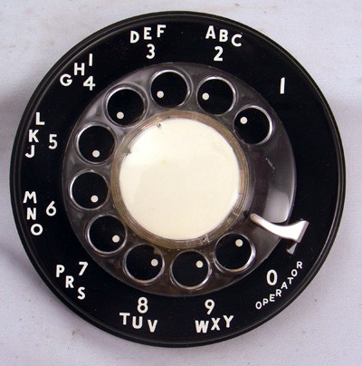Dial, Northern Electric 9CA Front View