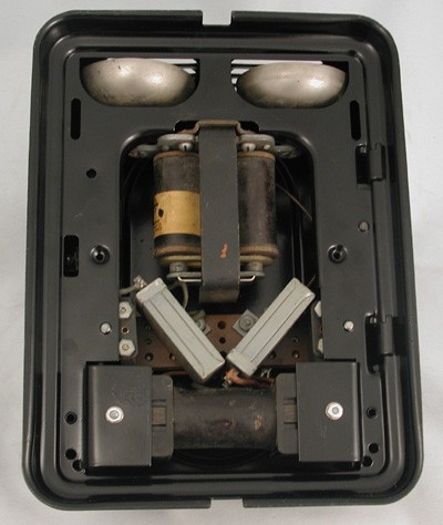 Automatic Electric Metal Ringer Box Front View