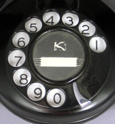Kellogg 725 Masterphone  with original metal subset Front View