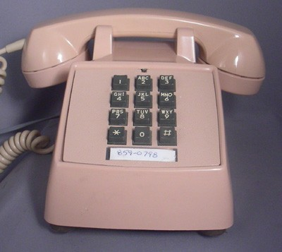 Western Electric 2500- Rose Beige Front View
