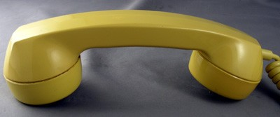 Automatic Electric Type 90 - Yellow Front View