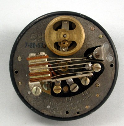 Northern Electric No 5H Dial Front View