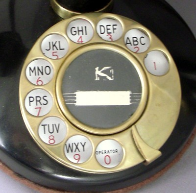 Kellogg Grab-A-Phone with Ringer Front View