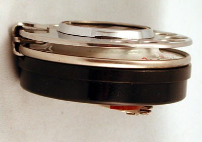 Stainless Steel British Post Office Dial (BPO) Front View