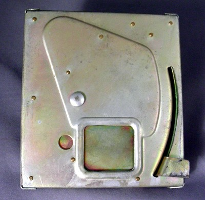 Payphone Vault Lid Front View
