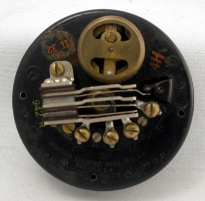 Western Electric Number 4H Dial Front View