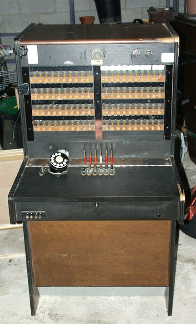 Northern Electric 554 TAS Switchboard Front View