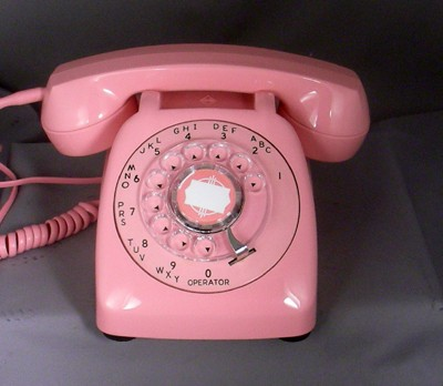 Automatic Electric Type 80 - Pink Front View
