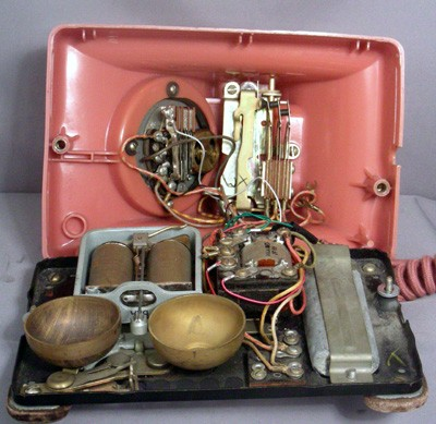 Western Electric Rose Model 302 - Fully Refurbished Front View