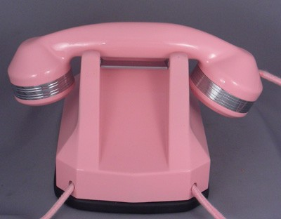 Automatic Electric Pink Model 40 - With Chrome Trim!!!!  Front View