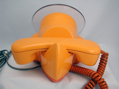 Northern Telecom Alexander Graham Plane? telephone  Front View