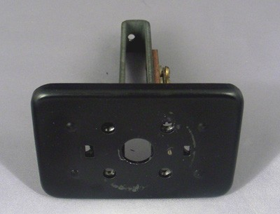 Western Electric 201 Top plate and Stem Front View