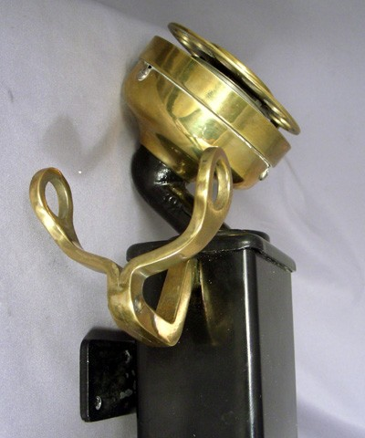 Western Electric 201 - C mount spacesaver - Brass Trim Front View