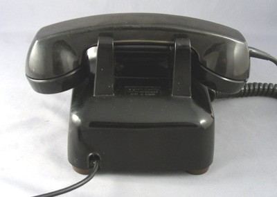 Northern Electric 500- black - 50's style Front View