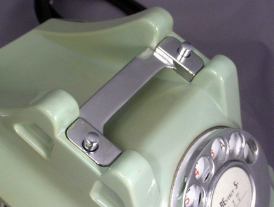 Automatic Electric Jade Green Model 40- with Chrome Trim Front View