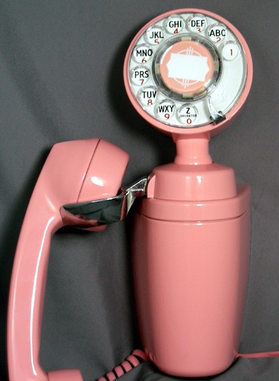 Automatic Electric Type 183 Spacemaker - Pink Front View