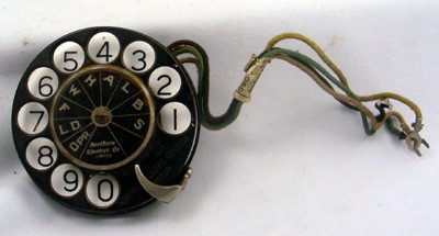 Northern Electric N-14MF Dial Front View