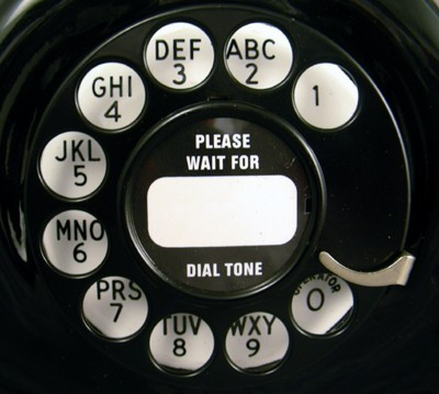 Connecticut TP-6-A Vintage Telephone Dial View