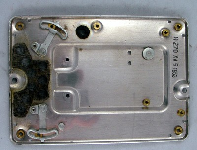 North Electric Galion Bottom Plate Front View