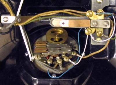 Northern Electric Model No. 1 - Inside View - 5H Dial
