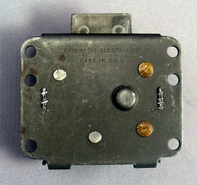 Automatic Electric payphone Top Lock - 10L  Front View