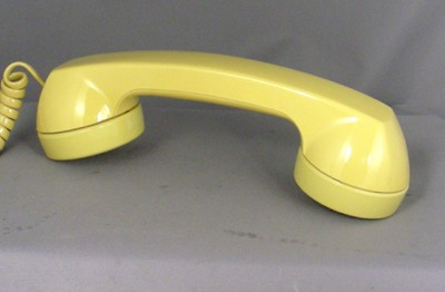 Western Electric 2702 - Yellow Touch Tone Front View