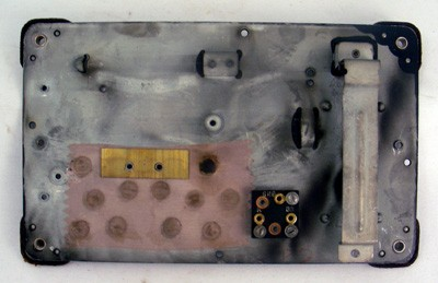 Northern Electric No. 2 Bottom Plate Front View