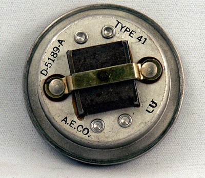 Automatic Electric Type 41 Reciever Element Front View