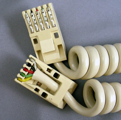 Cords,  Curly, Trimline, Ivory Front View