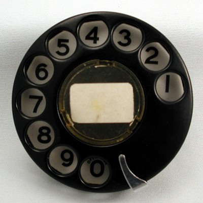 Stromberg Carlson Dial - Numeric Front View