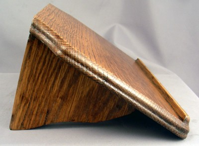 Low Slope Shelf, 6.25 Inch, Refinished Front View