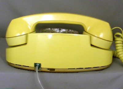 Western Electric 702 - Yellow Front View