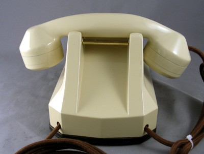 Automatic Electric Type 40 - Ivory Finish  Front View