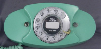 ITT 701 - Turquoise Front View