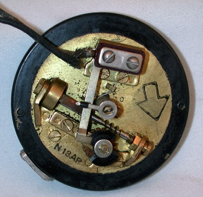 Northern Electric N-13AP Dial Front View