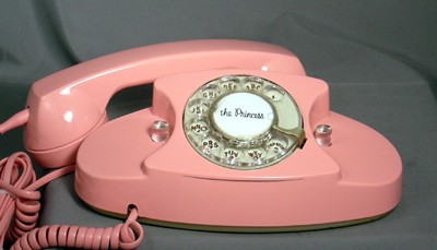 Western Electric 701 - Pink!! Front View