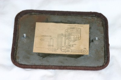 Base plate for Leich model 90 Front View